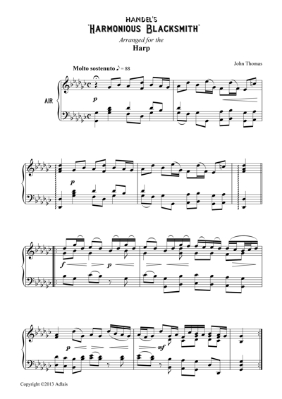 Sample of the music